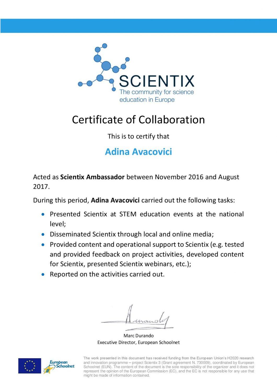 certificat Scientix ambasador-page-001